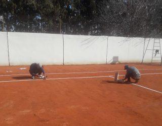 Réalisation et réfection des court de tennis à Marrakech || Realization and repair of tennis courts in Marrakech