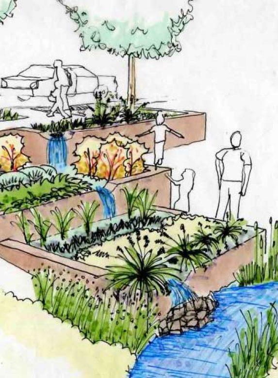 Conception et création des jardins à Marrakech || Design and development of green spaces in Marrakesh